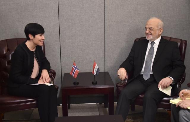 الكشف عن زيارة مرتقبة لرئيسة وزراء النرويج إلى العراق