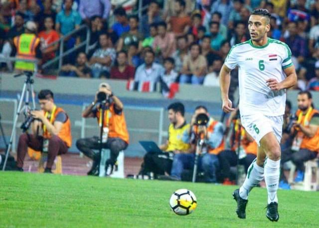 علي عدنان يصل السعودية استعدادا للبطولة الرباعية