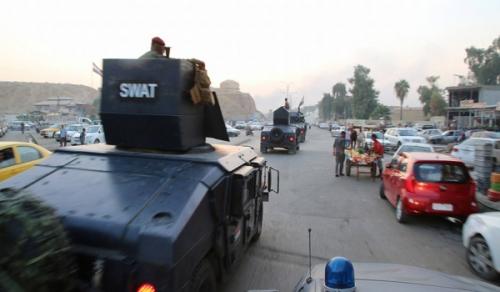 ضبط 11 حزاماً ناسفاً في أيمن الموصل