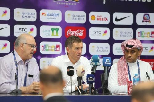 كاتانيتش يشيد بأداء لاعبي الوطني ونظيره السعودي واجهنا منتخباً قوياً