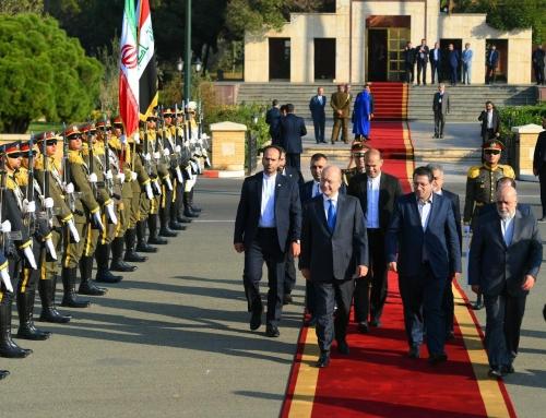 رئيس الجمهورية يغادر طهران متوجهاً إلى الرياض