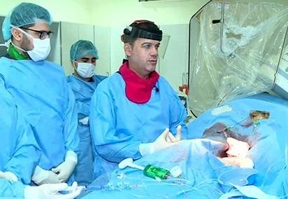 إجراء عملية جراحية هي الأولى من نوعها في العراق