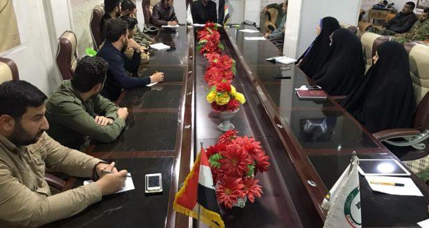 مكتب النجف الأشرف يشكل لجنة خاصة لمتابعة ابناء شهداء الحشد الشعبي في المدارس