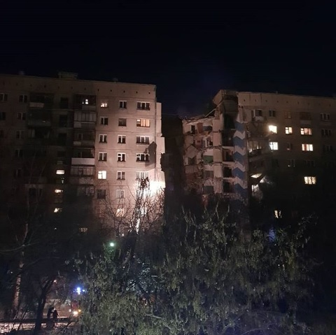 قتلى وجرحى بانهيار مبنى سكني جنوبي روسيا