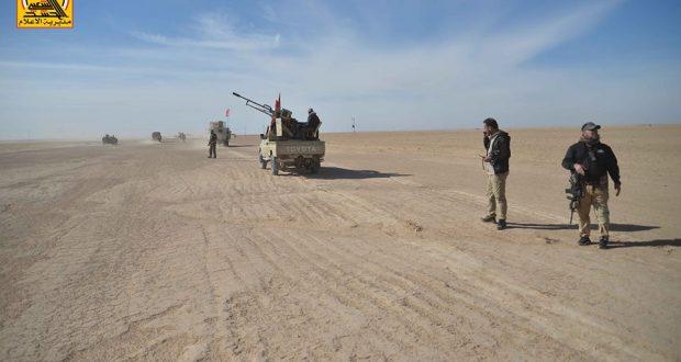 """الحشد ينفذ عملية مسح ميداني في مكحول وحمرين لمنع تسلل """"داعش"""""""