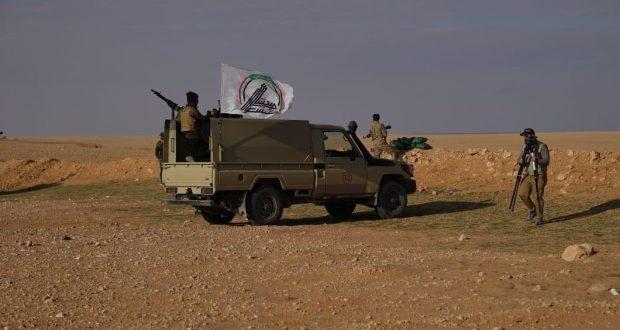 الحشد الشعبي يفكك عبوة ناسفة زرعتها داعش في معمل طابوق بالشرقاط