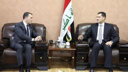 وزير التخطيط العراقي يبحث مع السفير التركي التعاون المشترك بين البلدين