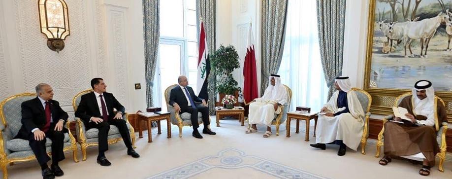 وزير التخطيط العراقي  يصل الى الدوحة