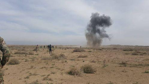 تفجير الشرقاط إستشهاد وإصابة 7 من الشرطة