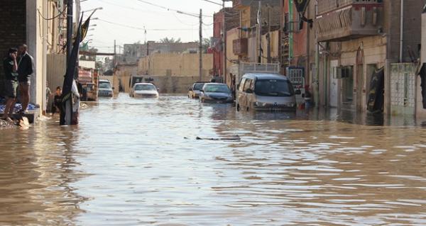 محافظة بغداد تستنفر جهدها الالي لسحب مياه الامطار