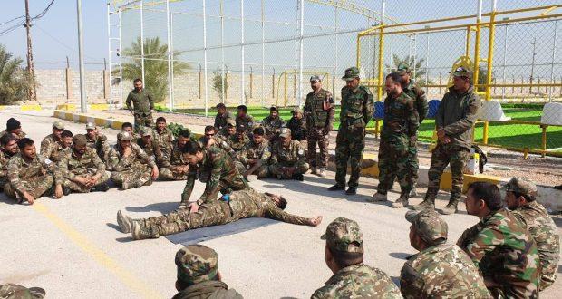 اللواء الثاني في الحشد الشعبي يواصل دوراته التدريبية الشاملة