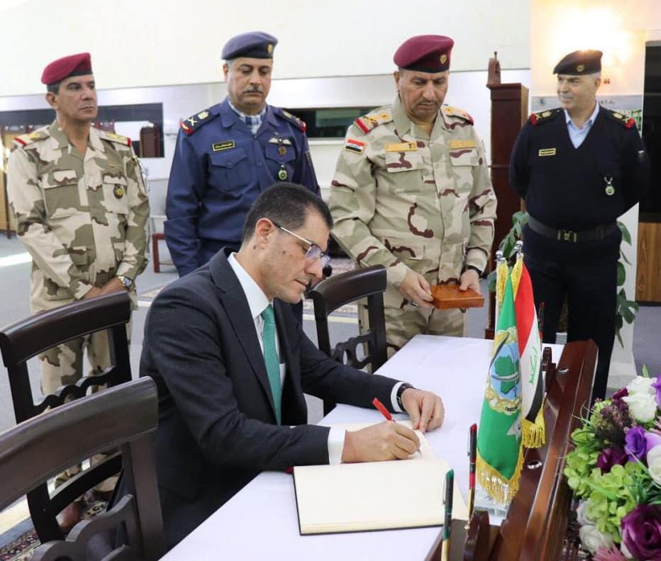 وزير التخطيط العراقي يبحث مع جامعة الدفاع تعزيز دور المؤسسة العسكرية في تحقيق التنمية المستدامة