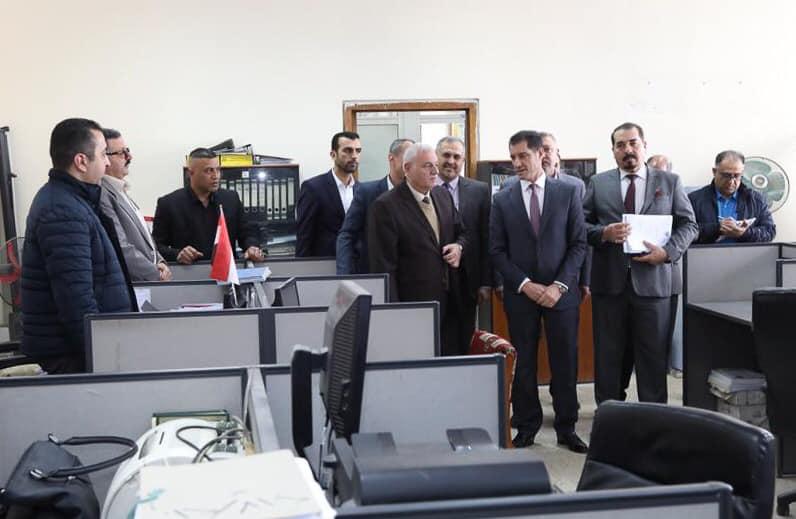 وزير التخطيط العراقي يتفقد سير أعمال الجهاز المركزي للتقييس والسيطرة النوعية