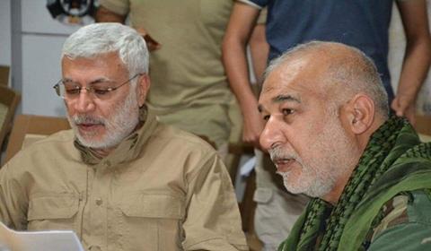 المهندس: نعاهد السيد داغر الموسوي باكمال مسيرة الدفاع عن العراق