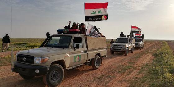 اللواء 26 بالحشد الشعبي يكمل الصفحة الأولى من تطهير الصحراء الغربية