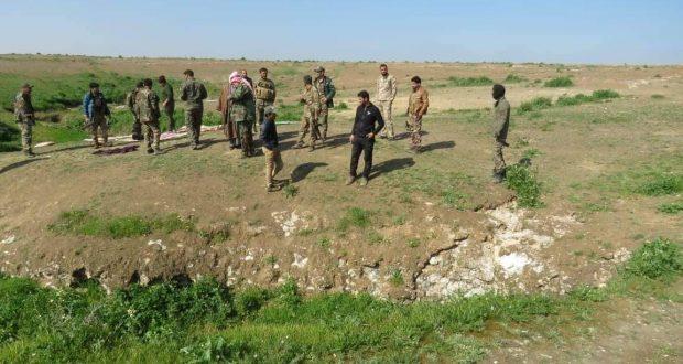 الحشد الشعبي يفكك خلية إرهابية جنوب الموصل