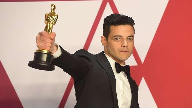 """""""أنا ابن مهاجرين مصريين  رامي مالك يفوز بأوسكار أفضل ممثل!"""