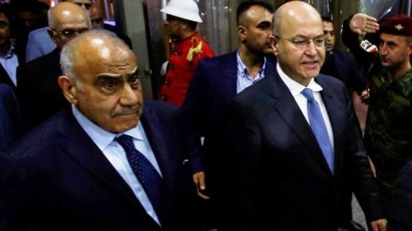 طلب نيابي لإستضافة صالح وعبد المهدي في أولى جلسات البرلمان المقبلة
