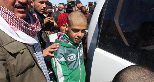 قيادة عمليات الحشد في نينوى تشرف على إعادة 16 طفلا مختطفا لدى داعش في سوريا
