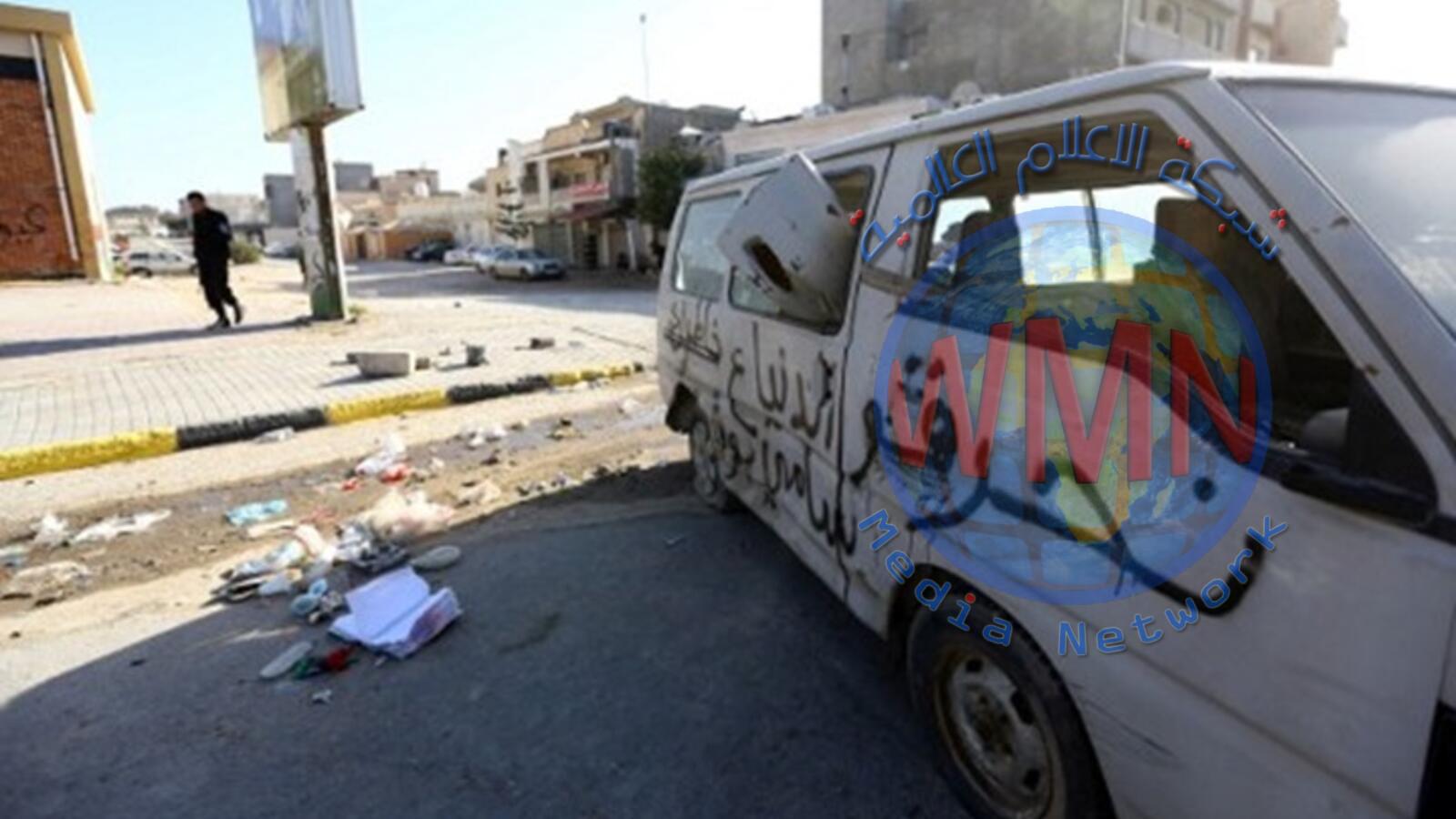 مقتل 4 أشخاص وإصابة 23 جراء سقوط صواريخ على بلدية تابعة لطرابلس