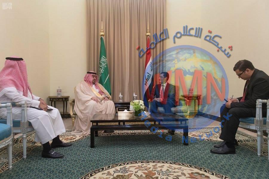وزير التخطيط العراقي يستقبل نائب وزير الاقتصاد والتخطيط السعودي