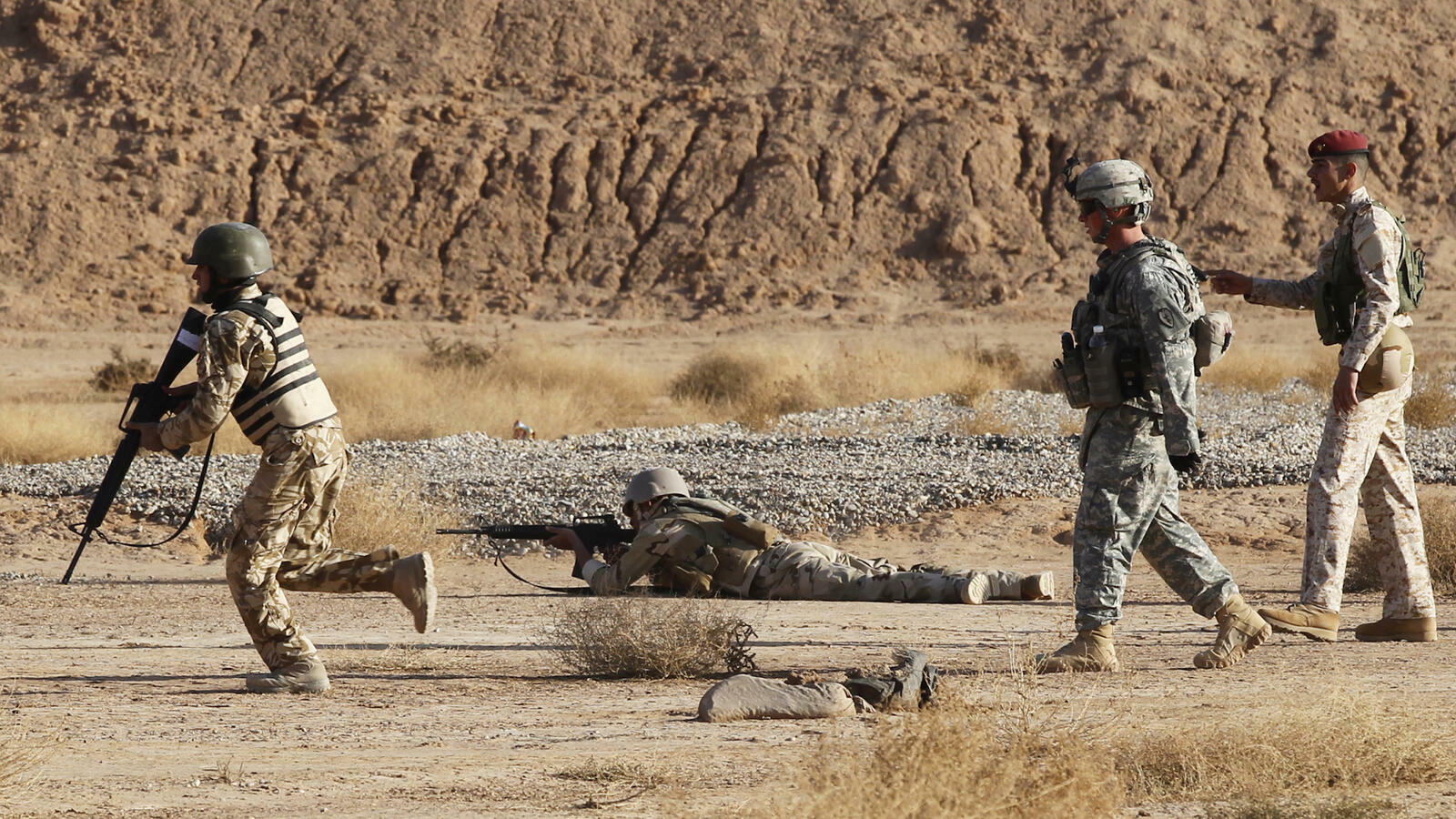 القوات العراقية تقتل 5 دواعش بينهم مسؤول في التنظيم
