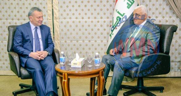 الفياض يبحث مع نائب رئيس الوزراء الروسي المستجدات الأمنية والسياسية في المنطقة