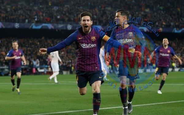 برشلونة يتغلب مانشستر يونايتد ويتأهل لنصف نهائي دوري الأبطال
