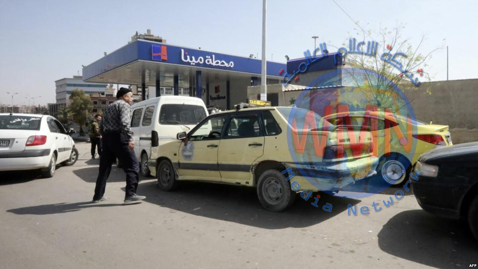 أزمة وقود.. دمشق تخفض مجدداً كمية البنزين المخصصة للسيارات
