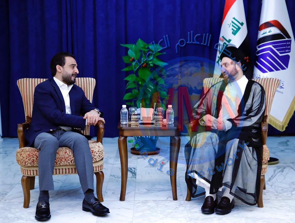 الحكيم للحلبوسي: على العراق استغلال دوره المحوري للتوسط بين أميركا وإيران