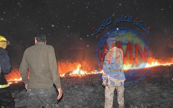 مجلس صلاح الدين يشكل لجان لمعرفة حجم أضرار الحرائق الأمريكية