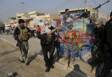 اعتقال جاسوس تسبب باستشهاد 40 موطنا في أيسر الموصل