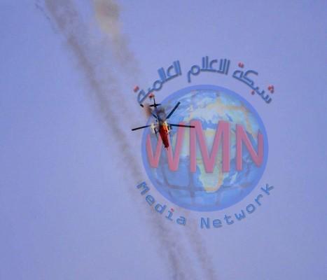 طيران الجيش يقتل 10 ارهابيين ويدمر صهريجين ومفخخة في علاس