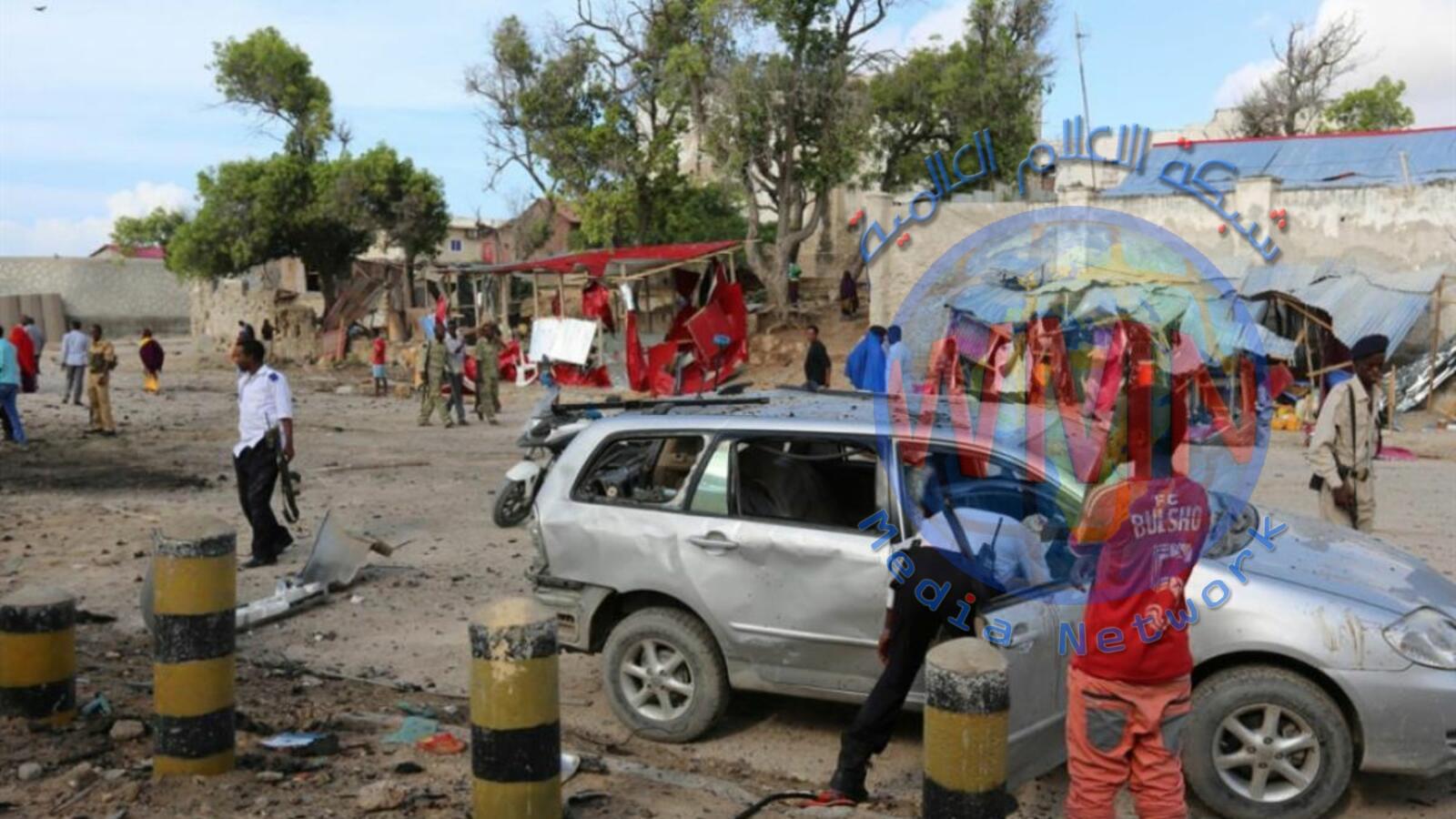 مقتل ثمانية افراد من الشرطة الكينية بانفجار لغم قرب الحدود مع الصومال