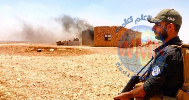 """الحشد الشعبي يعلن عن مقتل واصابة عدد من """"الدواعش"""" بإحباط مخطط لاستهداف مناطق غرب الانبار"""