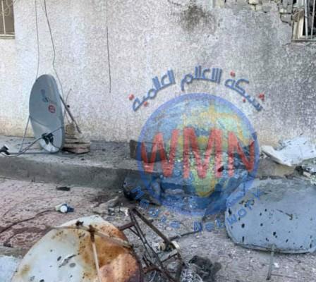 قصف مجمع نفطي في البصرة وإكسون موبيل تجلي 20 عاملاً على الفور