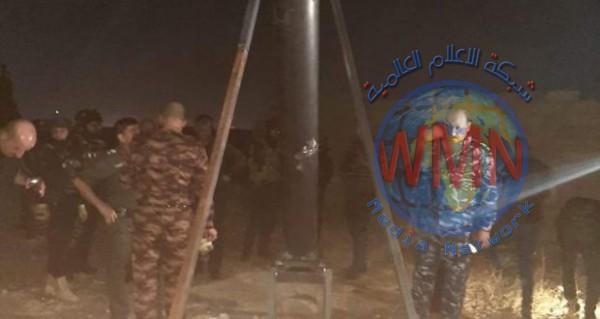 العثور على منصة الصاروخ الذي استهدف عمليات نينوى أمس
