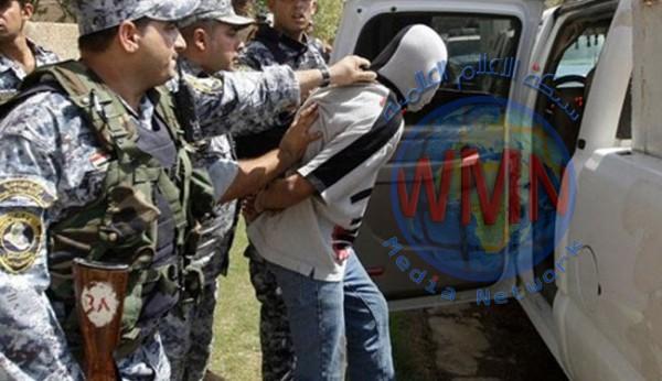 اعتقال 7 متهمين بالإرهاب والسرقة وترويج المخدرات في بغداد