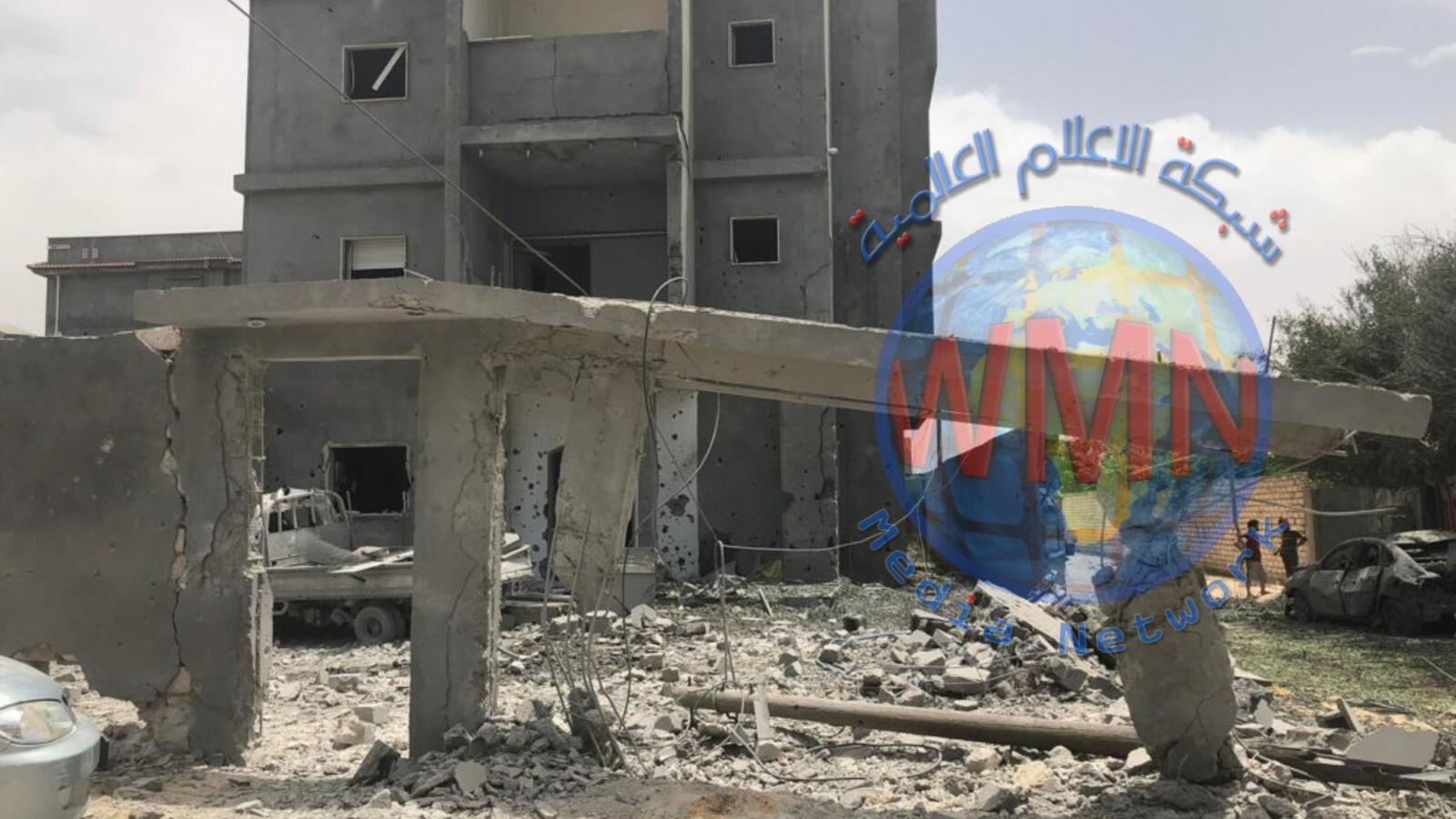 5 قتلى إثر قصف لطيران حفتر على مستشفى ميداني بطرابلس