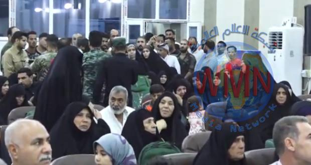 تفويج 300 حاج من ذوي شهداء وجرحى الحشد الشعبي عبر مطار النجف