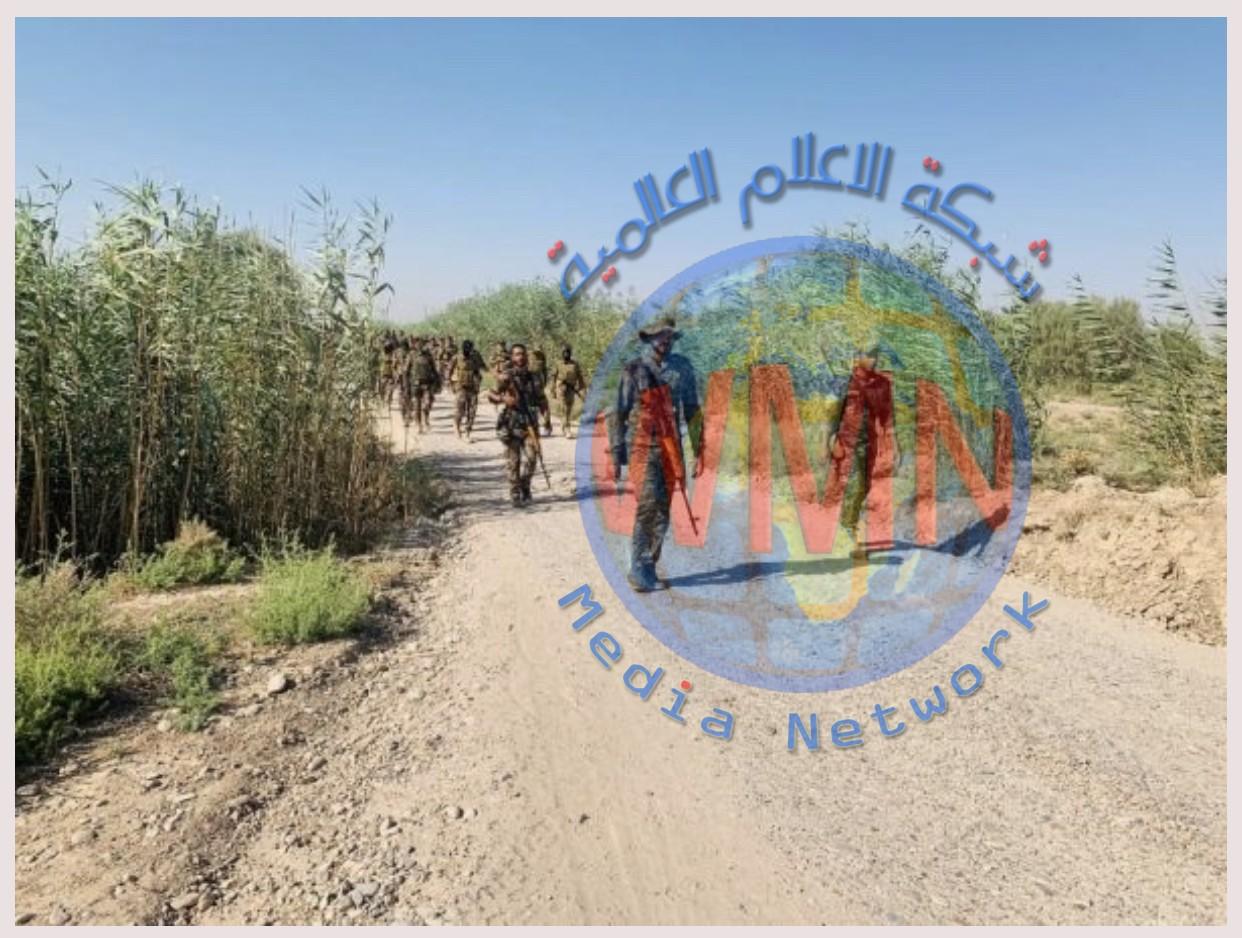 قطعات من اللواء 14 في الحشد الشعبي والجيش يباشران بتطهير قرى شمال بغداد