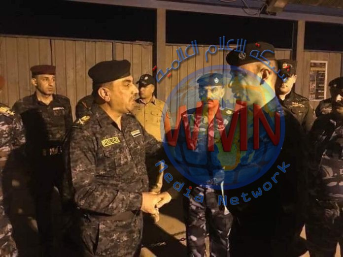 """قائد شرطة واسط يؤكد دعمه للضابط المعتدى عليه بسيطرة """"اللج"""""""