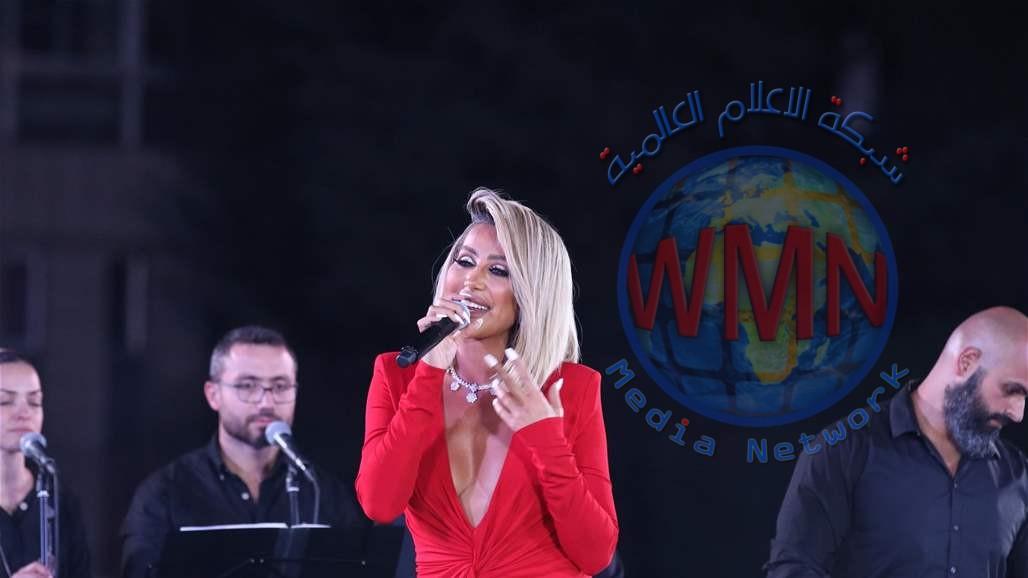 مايا دياب تحيي حفلا غنائيا في العراق