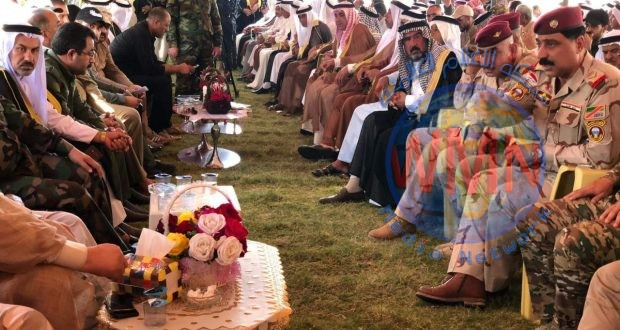 مؤتمر عشائري في منطقة المشاهدة شمالي بغداد تثمينا لجهود الحشد والقوات الامنية