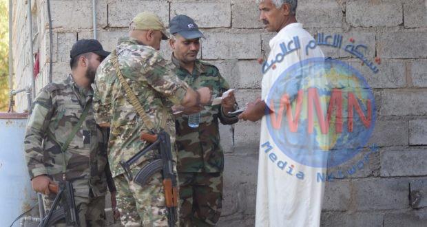 اللواء 14 بالحشد: فتشنا قريتين وتسعة بساتين حتى ظهر اليوم الثالث لعمليات إرادة النصر الثانية