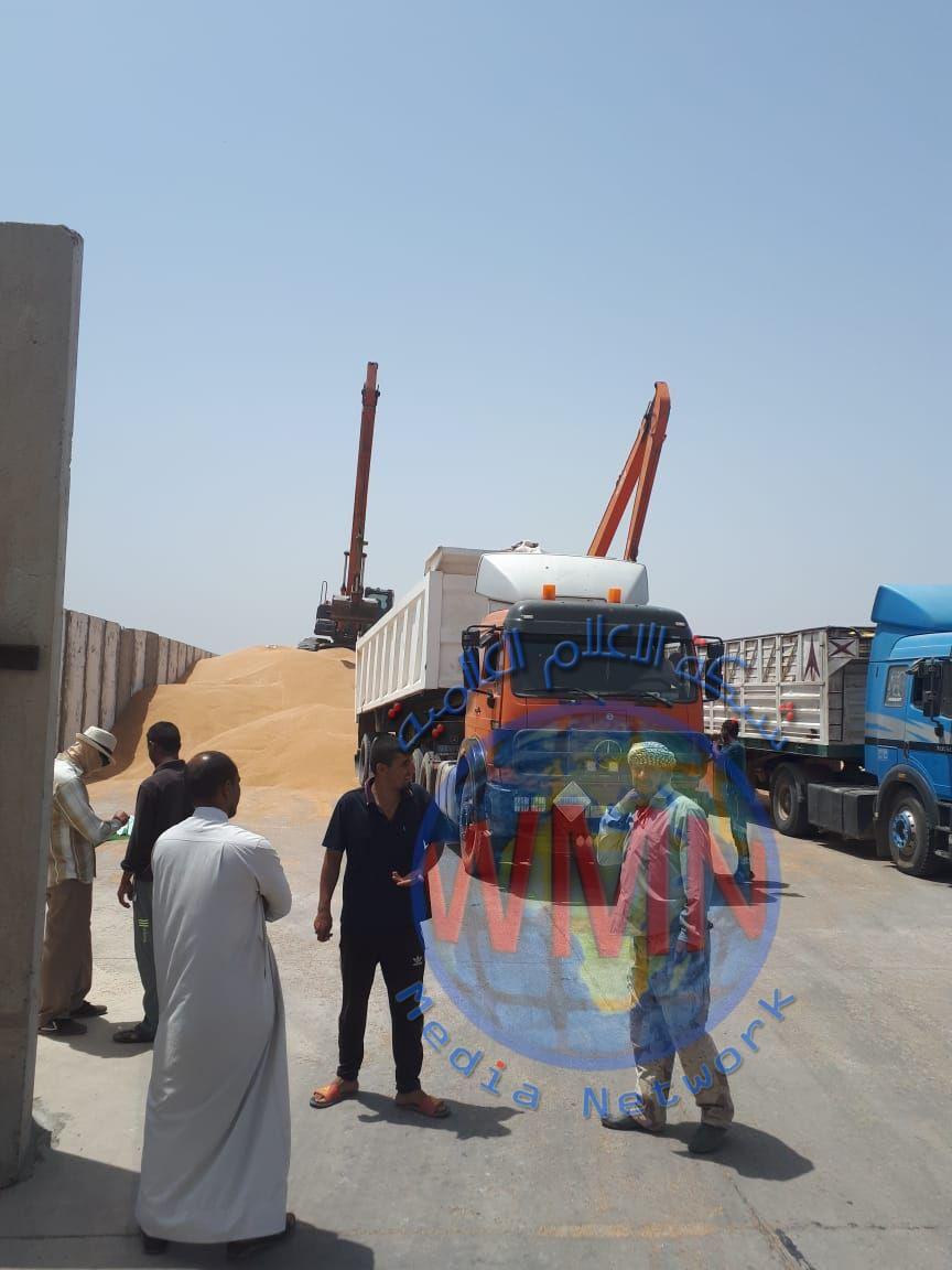 الجهد الهندسي لمكتب رئيس الوزراء يحول الكتل الكونكريتية الى طاقات خزنية للحنطةلصالح وزارة التجارة العراقية