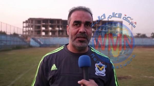 جبار هاشم : طول الدوري واللعب في الاجواء الحارة اثر على الكرة العراقية