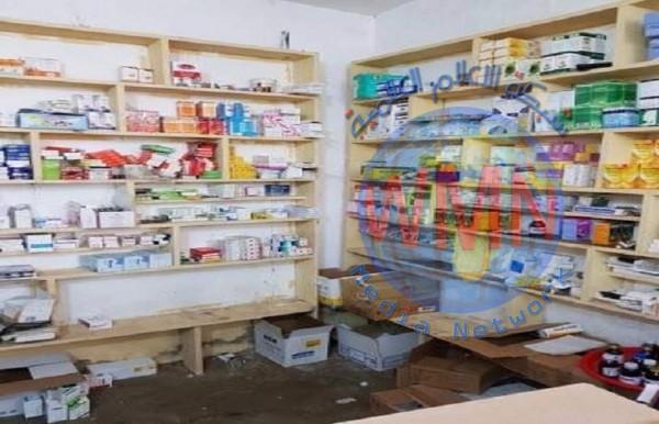 ضبط صيدلية وهمية داخل احد المنازل في ديالى