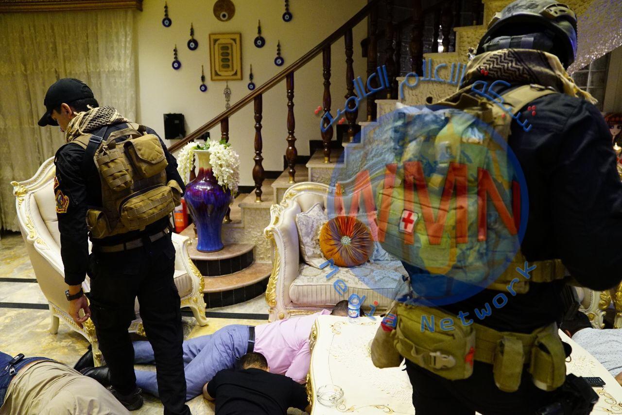 أمن الحشد الشعبي ينفذ الحملة الأكبر بتأريخ العراق لملاحقة مافيات الروليت وصالات القمار وتجار المخدرات