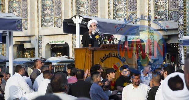 الشيخ الكاظمي: الحشد والقوات الأمنية طردا داعش الى غير رجعة